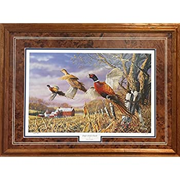 Amazon Com Roadside By Jim Hansel 17x21 Pheasants Farm