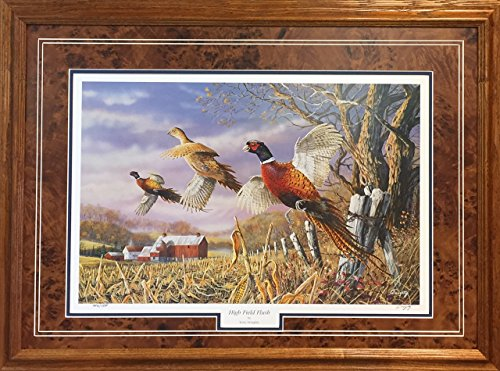 (Framed & Matted Wildlife Art