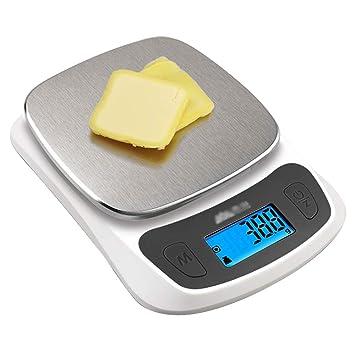 Bascula Cocina Digital 11 LB/5 Kg|bascula Comida De ...