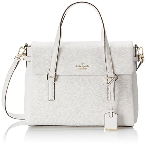 kate spade new york Holden Street Small Leslie Top Handle Bag Bright White One Size