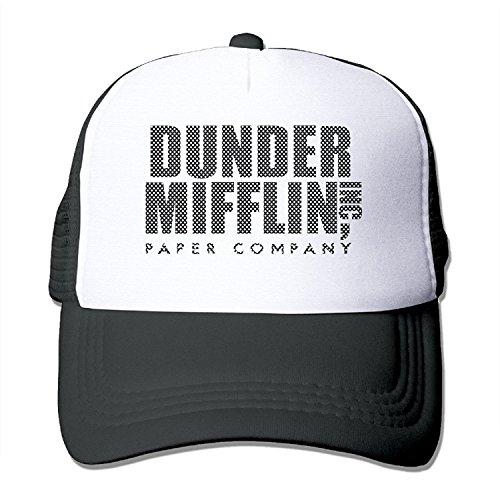 WuliNN Dunder Mifflin Paper Inc Mesh Trucker Hat Outdoor Adjustable Baseball Cap For - Stores In Caps Swimming