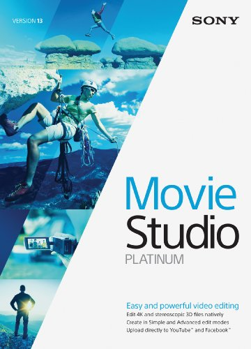 Sony Movie Studio 13 Platinum- 30 Day Free Trial [Download] (Recording Software Video)
