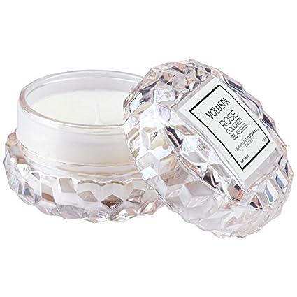 Amazoncom Voluspa Rose Colored Glasses Macaron Candle 18 Ounces