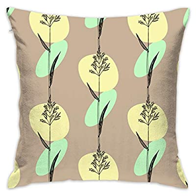 SARA NELL Velvet Throw Pillow Cases,Kentucky Bluegrass,Pillow Covers Decorative 18x18 in Pillowcase Cushion Covers with Zipper