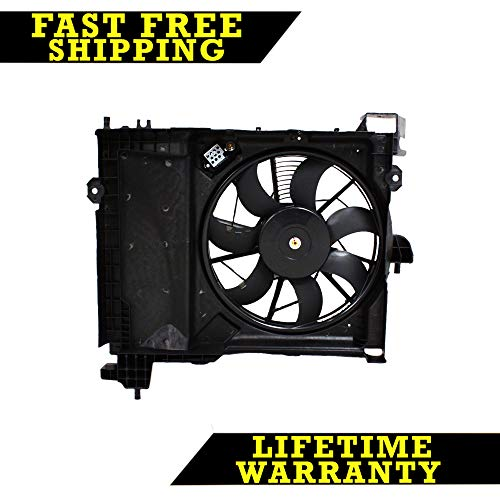 Sunbelt AC CONDENSER FAN ASSEMBLY FOR DODGE CHRYSLER FITS DURANGO ASPEN CH3113105