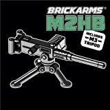 BrickArms Arme M2HB Mitrailleuse pour figurines LEGO