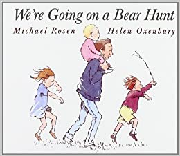 amazon com we re going on a bear hunt classic board books