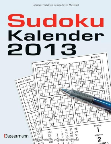 Sudokukalender 2013