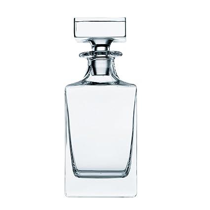 Spiegelau & Nachtmann Botella de whisky (0,75 L, cristal, Paola Julia