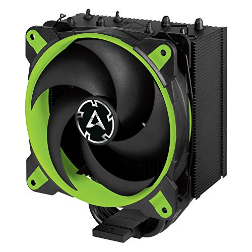 Price comparison product image ARCTIC Freezer 34 Esports Edition - Tower CPU Cooler with Push-Pull Configuration I Silent 3-Phase-Motor and Wide Range of Regulation 200 to 2100 RPM - Includes Low Noise PWM 120 mm Fan – Green