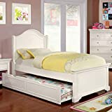 Furniture of America Maggie Transitional Twin Trundle, White