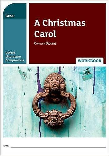 Oxford Literature Companions: A Christmas Carol Workbook
