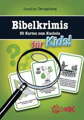 Bibelkrimis für Kids: 50 Karten zum Knobeln