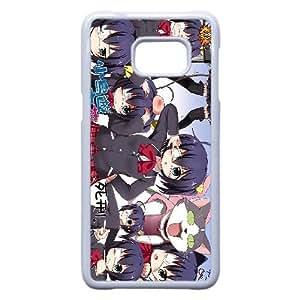 Cyuunibyou Demo Koigashitai 1 plastic funda Samsung Galaxy S6 Edge Plus cell phone case funda white cell phone case funda cover ALILIZHIA15126
