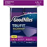 Health & Personal Care : GoodNites Tru-Fit Underwear Starter Pack for Girls,L-XL