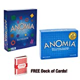 Ultimate Anomia Combo: Includes Original Anomia, Anomia Party Edition and Free Deck of Standard Playing Cards