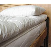 Holy Lamb Organics Wool Mattress Toppers - Ultimate (King Ultimate Topper)