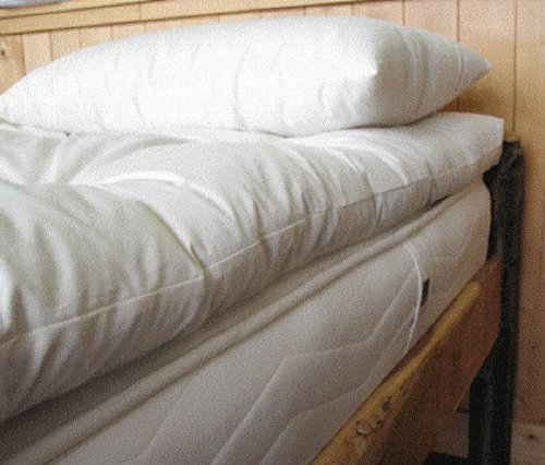 Twin Tufted Organic Wool - Holy Lamb Organics Wool Mattress Toppers - Ultimate (Twin Ultimate Topper)