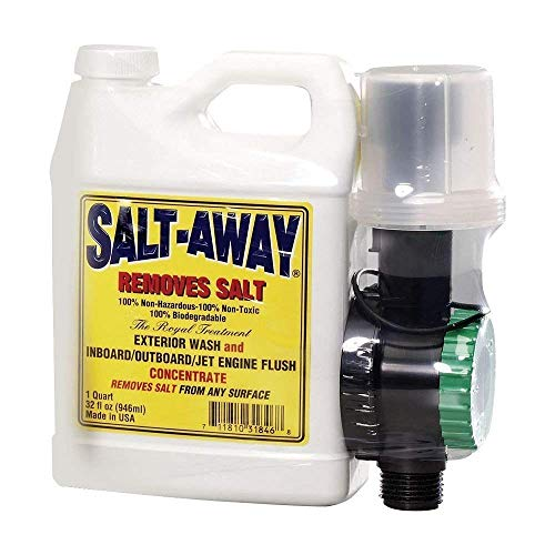 Salt Away SA32M Concentrate Kit with Mixing Unit, Salt Removing Cleanser, 32 Fl. Oz. ()