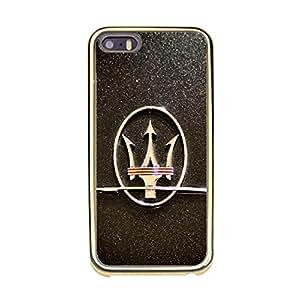 Iphone 5/5s Maserati Phone Case Fashion Luxury Maserati Logo Premium Cell Phone Case