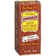 Homebrew Birch Root Beer Concentrated Extract, 2-Ounce Boxes (Pack of 3)