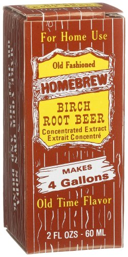 Homebrew Birch Root Beer Concentrated Extract, 2-Ounce Boxes (Pack of 3) (Root Beer Wintergreen)