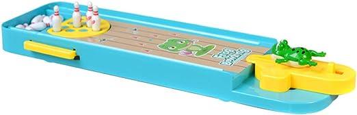 Cutowin - Mini Juego de Mesa de Bolos de Rana 3D para niños, interacción de Padres e Hijos: Amazon.es: Hogar