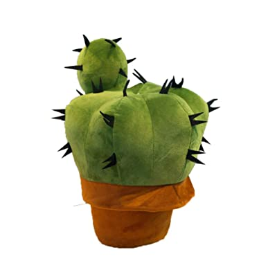 Toyvian Cactus Decor Cactus Desktop for Office Stuffed Toys Photo Props Cactus for Home Decoration Office: Office Products