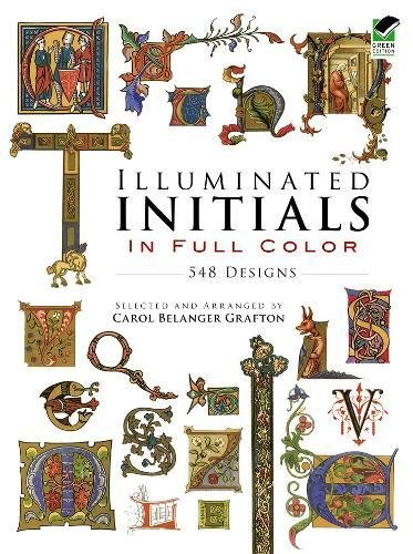 Illuminated Initials Full Color Pictorial product image