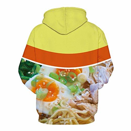 Hoodie 3D, Morbuy Pull fantaisie pour homme Sweat-shirt unisexe pour femme Sweat à capuche avec grosse poche (XXL/XXXL)
