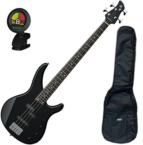 Yamaha TRBX174 BL TRBX-174 Black 4 String Bass Guitar w/ Gig