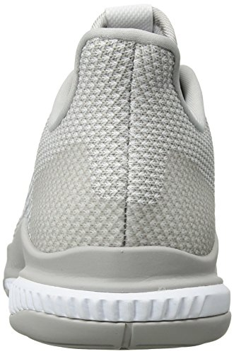 Adidas White grey silver Bounce 2 Crazyflight Mujer Metallic TfrSTq