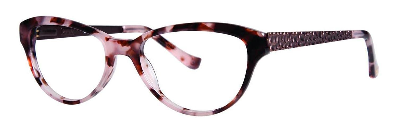 KENSIE Eyeglasses GLAM Pink Tortoise 50MM at Amazon Men\'s Clothing ...