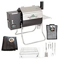 Davy Crockett Pellet Grill Ultimate Griller Package Includes Cover-Upper Rack-Utensils-Grilling Mat made by  famous GMG