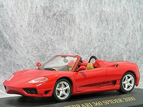 Amazon 143 Ixo Ferrari 360 Modena Spider Ferrari Toys Games