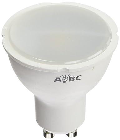 A2BC LED Lighting Bombilla LED GU10, 6 W, Blanco Cálido 3000K 10 unidades
