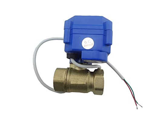 "5 opinioni per MISOL 1pcs of motorized ball valve G1/2"" DN15 2 way 12VDC CR04, electrical"
