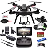 3DR Solo Quadcopter with 3-Axis Gimbal for GoPro HERO3+ / HERO4 + SanDisk 32GB Extreme PRO microSDHC Memory Card + High Speed All-in-1 Card Reader + MORE!!!