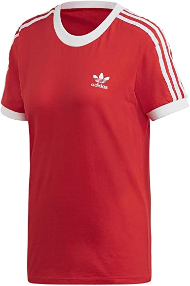 Adidas Originals T shirt à 3 bandes pour femme