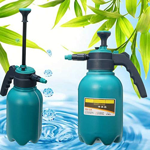 (Sprayers Portable Chemical Sprayer Pump Hand Pressure Trigger Sprayer Bottle Adjustable Copper Nozzle Air Compression Pump Spray 2.0L)