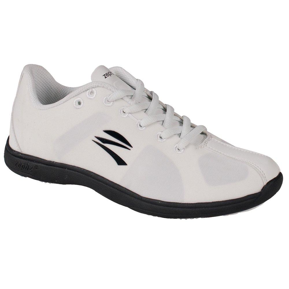 2e62fa24333f3 Zephz Stratoscheer Cheerleading Shoe WHT/GREY Ladies 5.5