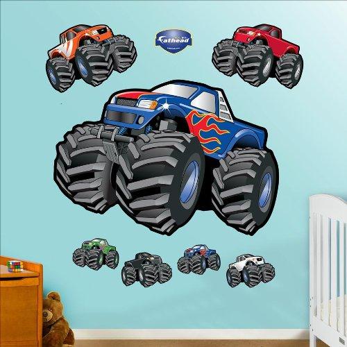Fathead Monster Trucks Wall Graphic