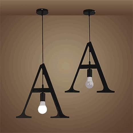 Lámpara Araña Led De Techo Vintage Iluminación Creativa ...