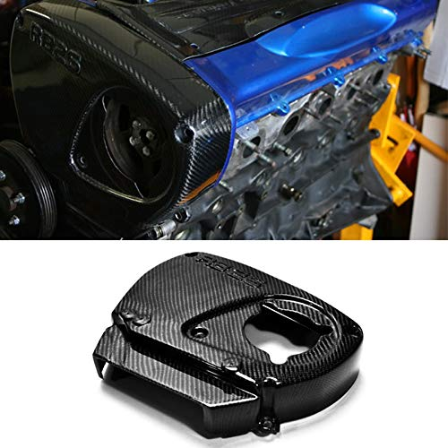 - Carbon Fiber Engine Parts Timing Belt Camshaft Cam Gear Cover Trims Protector for Nissan Skyline R32 R33 R34 RB26 DETT