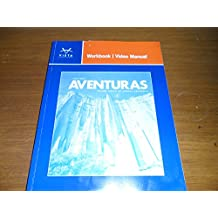 Amazon vista higher learning books aventuras workbookvideo manua fandeluxe Image collections