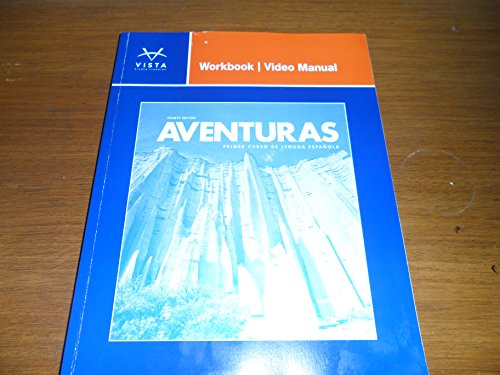 AVENTURAS-WORKBOOK/VIDEO MANUA