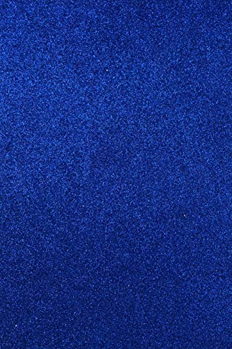 Allgala 12 Pack Glitter EVA Foam Paper 8x12 Inch Sheets-Royal-CF85004