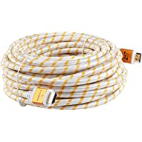 SHD HDMI Cable (40FT) for 4K Ultra HD 1080P 2.0V Support 3D,Ethernet and ARC Golden Color