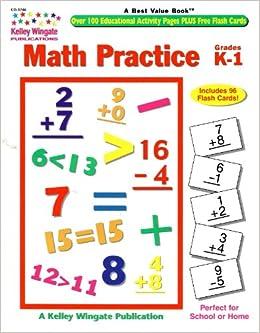 Amazon.com: Math Practice: Grades K-1 (0044222141431 ...