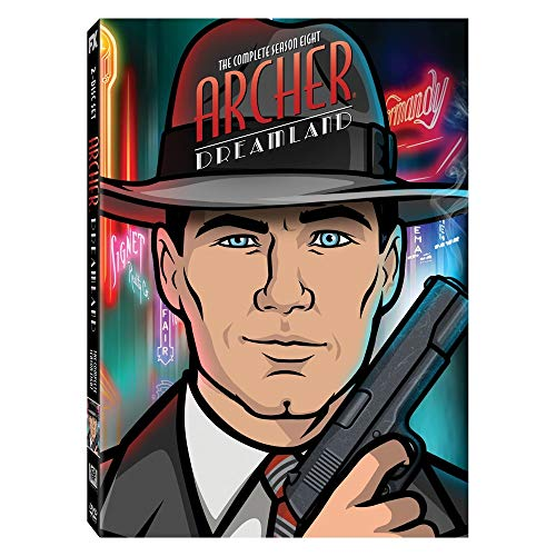 20th Century Fox Home Entertainment FOXD2342209D Archer Dreamland: The Complete Season Eight (DVD)